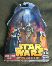 Star Wars COMMANDER GREE ROTS 59 3.75 MOC 2005 RARE