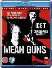MEAN GUNS    BLU-RAY     UK      NEW/SEALED  CHRISTOPHER LAMBERT  ICE T VIOLENT