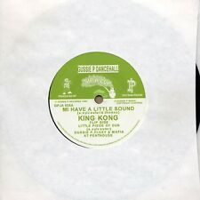 "KING KONG Mi Have a Likkle Sound (Not a Bwoy Caan Test) 7"" NEW VINYL Sip a Cup"