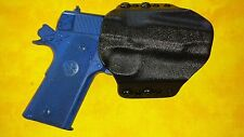 HOLSTER BLACK KYDEX COLT 1911 COMMANDER 45 ACP OWB Outside Waistband
