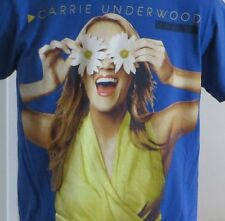 Carrie Underwood Play On Tour T-shirt Daisies Country Music Band Size Small