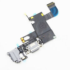 "Iphone 6 4.7"" Audio Handsfree Charging Dock Port Mic Flex Cable Ribbon Grey UK"