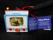 Dept. 56: Fisher Price TV Peek-A-Boo Screen 2014 Ornament NEW with Tags