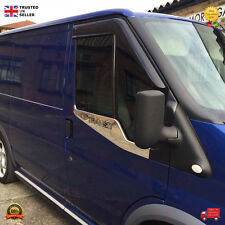 FORD TRANSIT SIDE DOOR UNDER WINDOW  MOULDING CHROME STAINLESS STEEL 2006-13