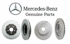 Mercedes W204 C63 AMG 08-13 Set Of 2 Front and Rear Brake Discs Genuine