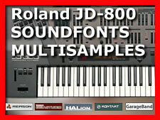 sample Roland JD 800 JD 990 soundfont sf2 samples cd JD800 for sonar kontakt etc