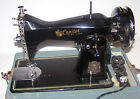 Vintage Capitol Deluxe Sewing Machine with Carry Case & Foot Pedal Made in Japan