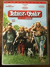 Gerard Depardieu ASTERIX AND OBELIX TAKE ON CAESAR ~  French Film UK DVD