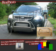 FORD KUGA 2008-2012  BULL BAR NUDGE BAR  A BAR + GIFT !!!  STAINLESS STEEL