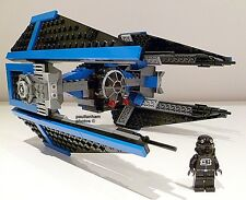 LEGO STAR WARS TIE INTERCEPTOR 6206 TIE PILOT MINIFIGURE 100% COMPLETE GUARANTEE