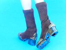 Phicen Demon Huntress 1/6 Scale Faux Leather Hot Warrior BOOTS w feet toys