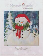McKenna Ryan, Snow Buds Quilt Pattern, Snowman, Season's Tweetings (Block 8) DIY