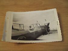 "VTG 1959 B/W Photo~""CARBERRY CROP DUSTERS"" Airplane/Pilot~FRESNO CA~"