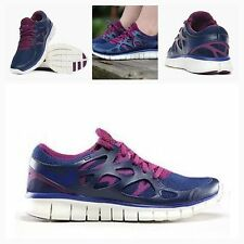 BNIB Nike Free Run 2 EXT Womens UK 5 WMNS Trainers Gym Running 536746 407