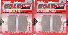 Yamaha FZR 750 Front Sintered Brake Pads 1989 Onwards - Goldfren - FZR250