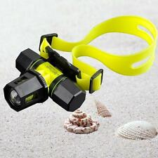 6000Lm CREE XM-L T6 LED Diving Zoom Headlamp Headlight Waterproof Light Torch MT