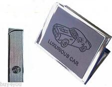 Zigarettenetui Metall Feuerzeug Auto Zigaretten Tabak Zigarettenbox Box Case