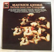 """33T Maurice ANDRE Disque LP 12""""  BALLADE POUR TROMPETTE - VOL DU BOURDON 1652031"""