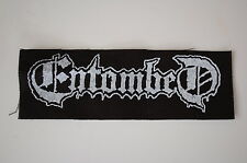 Entombed Cloth Patch (CP 163) Death Metal Rock Gorgoroth Deicide Dissection