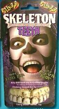 FAKE SKELETON TEETH #992 FREEKY tooth costume prop  funny weird SKULL  DRESSUP