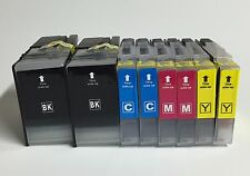 8 Pack LC79 79XL Set Ink Cartridges for Brother MFC-J6510DW mfc j6710dw Printers