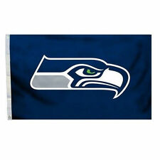 Seattle Seahawks Tailgate Flag 3x5 NFL Deluxe All Pro Banner