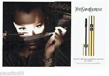 PUBLICITE ADVERTISING 116  2010  Yves Saint Laurent   maquillage (2pages)