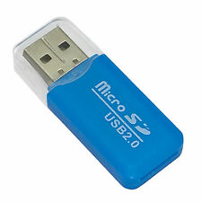 USB 2.0 Micro SD SDHC TF M2 TF MS Mini Memory Card Reader Writer For Computer PC
