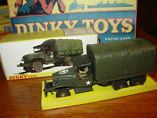 Dinky #809 GMC US Army 6X6 Truck - Mint in Box!!!