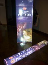 20 INCENSI india incenso FAIRY DREAMS divinazione esoterico bastoncini fragranza