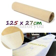 "PVC 50 x 10"" Longboard Skateboard Griptape Thickened Grip Tape Sheet Clear"