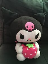 "Sanrio Kuromi w/Strawberry 10"" Plush Doll"