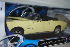 Maisto 1967 Chevy Camaro RS/SS 396 Yellow # 31684 1:18 Scale In Box JM 9G