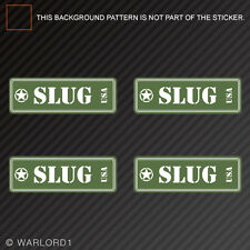 Slug Ammo Can Sticker Set Classic Edition Die Cut Decal shotgun