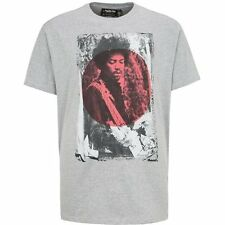 Replika Jeans 'Jimi Hendrix' T-Shirt/Grey - 5XL WAS £35.00, NOW £25.00