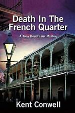 Death in the French Quarter (A Tony Boudreaux Mystery)-ExLibrary