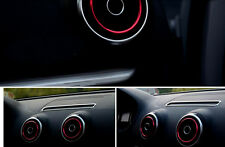 New 4 Pcs Metal Inner Air Vent Cover Fit For Audi A3 8V 2015 2014 2013 2012