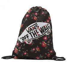 Bolsa Vans Benched Novelty Floral Black Black backpack bag