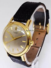 Universal Geneve Mens 35mm 14k Yellow Gold Vintage Manual Wind Watch