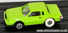 AUTO WORLD xtraction veloce e furiosa BUICK Grand National lime verde / SLOT CAR