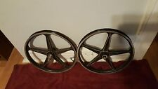 OLD SCHOOL BMX BLACK LESTER MAGS BENDIX BRAKE MAGS RARE MOTOMAGS TUF WHEELS