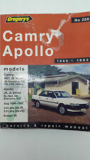 Gregorys SP No 256 Toyota Camry Holden Apollo 1989 – 1992 Service Manual