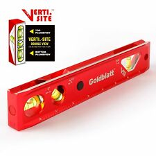 "Goldblatt 9"" Torpedo Level Lighted Magnetic Aluminum Heavy Duty Easy Read New"