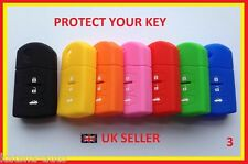 MAZDA 2 3 5 6 MX-5 RX-8 CX7 3 BUTTON CASE COVER FLIP KEY FOB REMOTE SILICONE 3