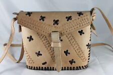 Gorgeous Classic Handmade Camel Leather Shoulder Handbags 10 FREE POSTAGE