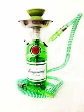 Tanqueray® Hookah Shisha Chicha Narghile 1.75L London Dry Gin Glass Bottle Green