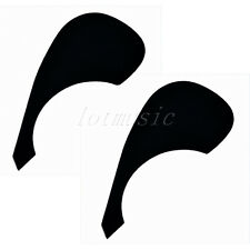 2*Black Acoustic Guitar Plate Pickguard For Yamaha replacement,PVC Guitar parts