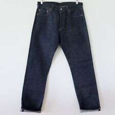 G-STAR GSTAR RAW DENIM JEANS US FIRST 001 RED LISTING RINSE SELVEDGE 36x36 1997
