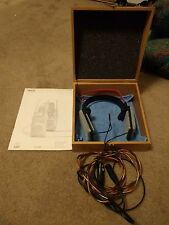 AKG K1000 ● audiophile headphones ● ear speakers ● no modifications ● MINT