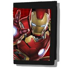 Marvel Comices The Avengers Age Of Ultron Iron Man 3D Trifold Wallet